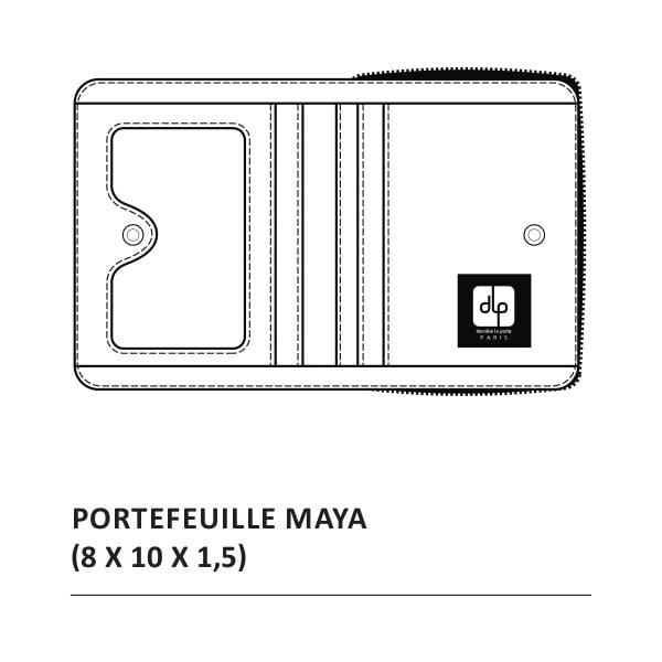 Peněženka Maya P'tit Paris, rose/vert