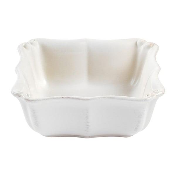 Bílá kameninová miska Casafina Vintage Port Barroco, ⌀16cm