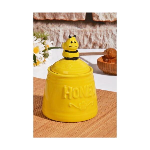 Honey kaptár formájú méztartó