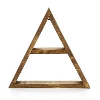 Raft din lemn pentru perete Evila Originals Geometric