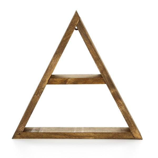 Półka drewniana Geometric