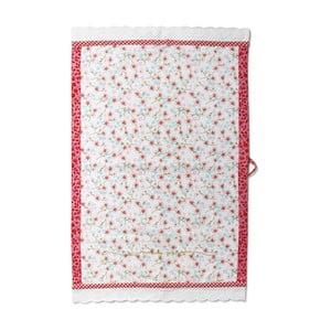 Utěrka Cherry Blossom 70x50 cm, bílá