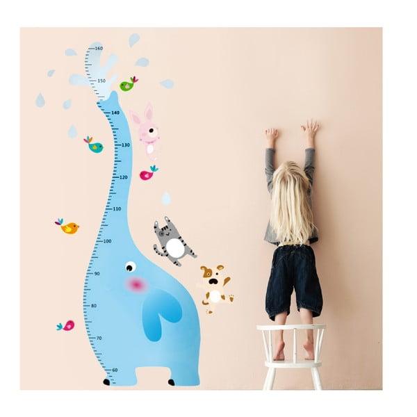 Samolepka na stěnu Metr se slonem, 60x90 cm