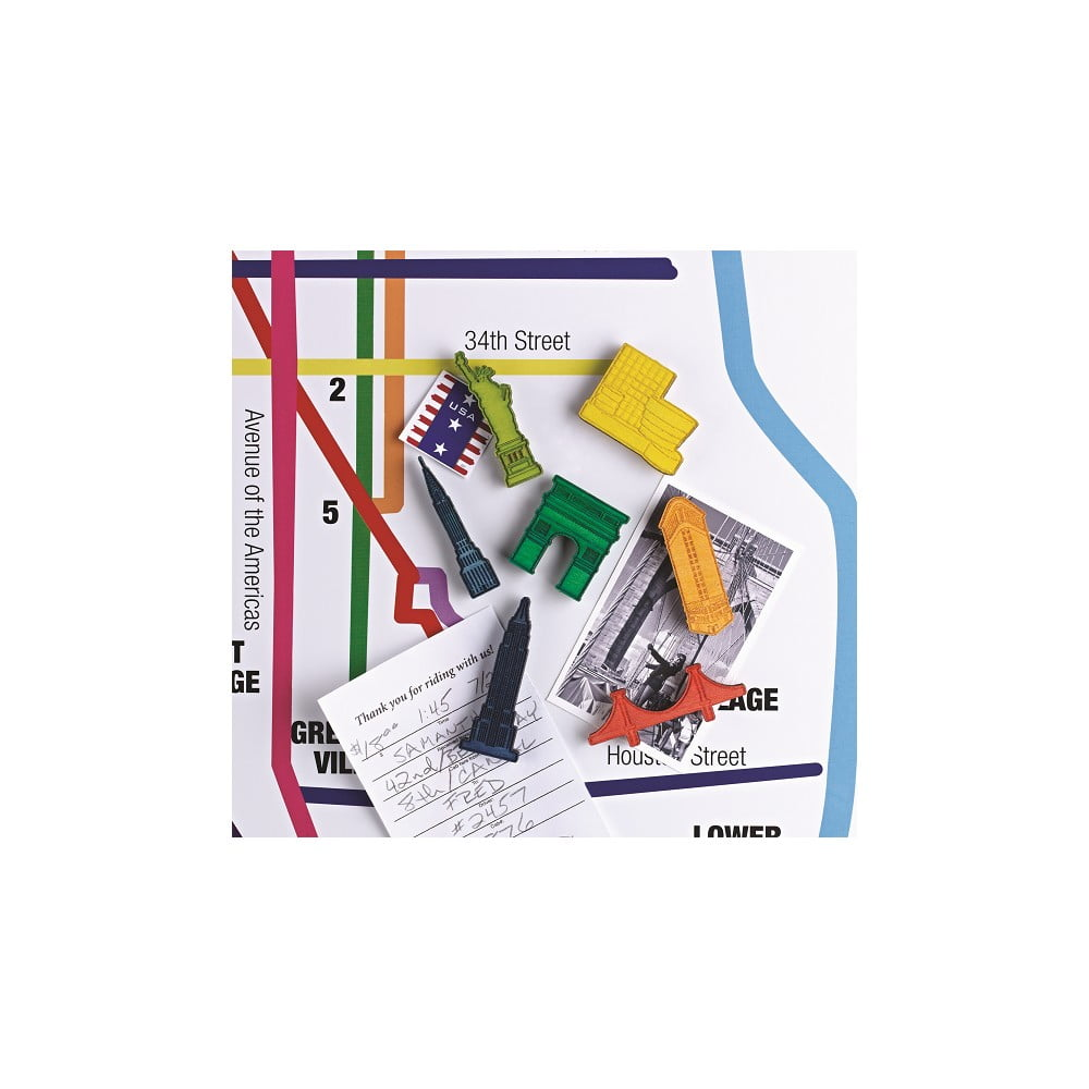 Sada 7 magnetů Design Ideas Landmark NYC