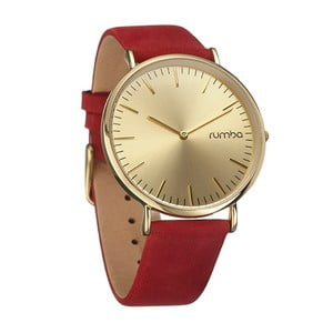 Dámské hodinky SoHo Suede Crimson