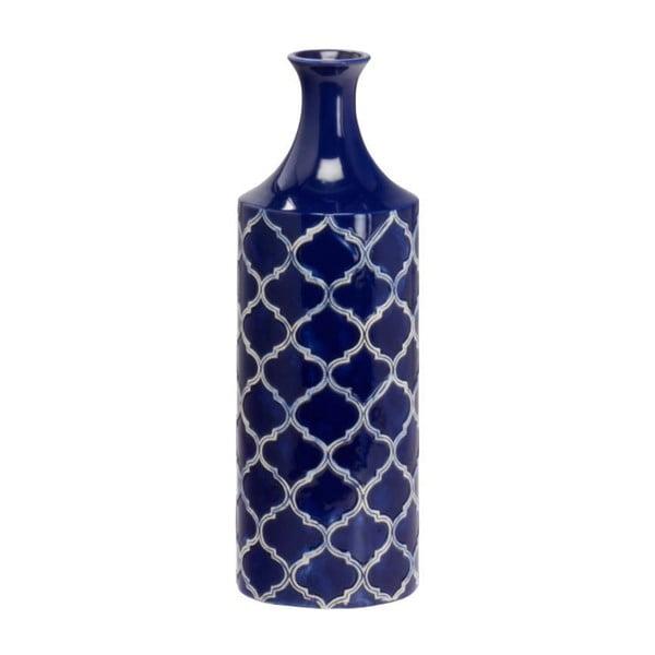 Keramická váza Blue Vase, 40 cm