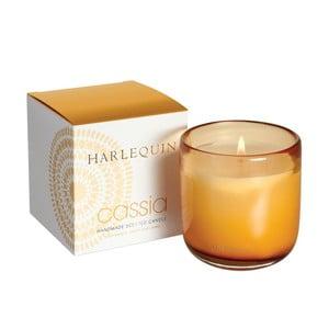 Svíčka Harlequin, šampaňské s broskví