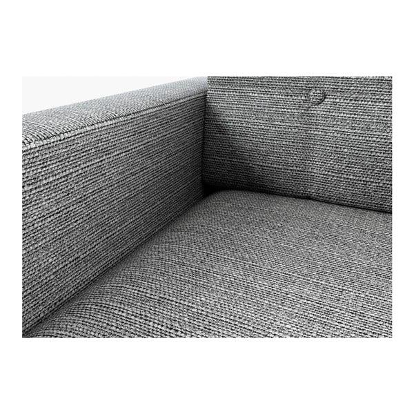 Sofa New York pro tři, šedivé