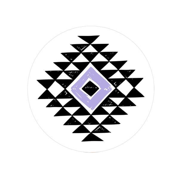 Sada 2 odkládacích stolků Aztec Diamond, 35 cm + 49 cm