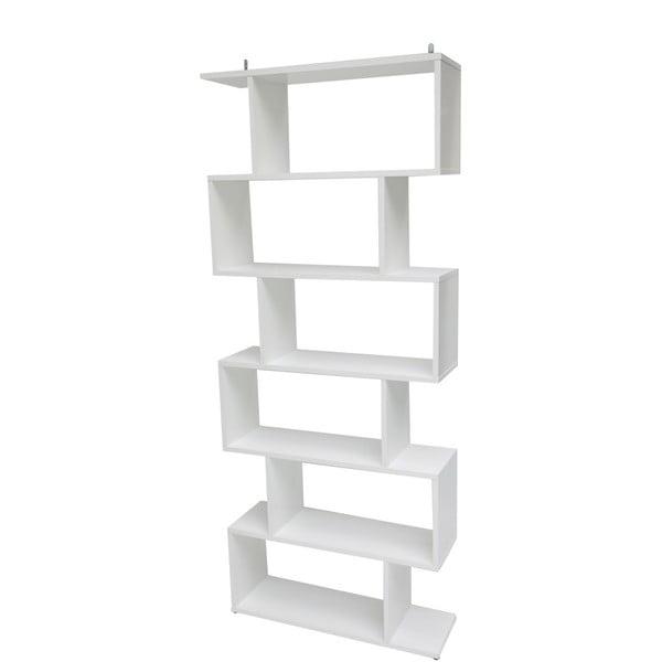 Bibliotecă Evergreen House Martin, înălțime 192 cm, alb