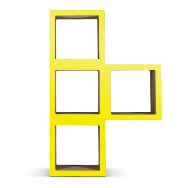 Kartonová knihovna Bit Ti Yellow