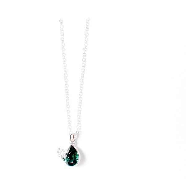 Náhrdelník Swarovski Elements Crystal Green