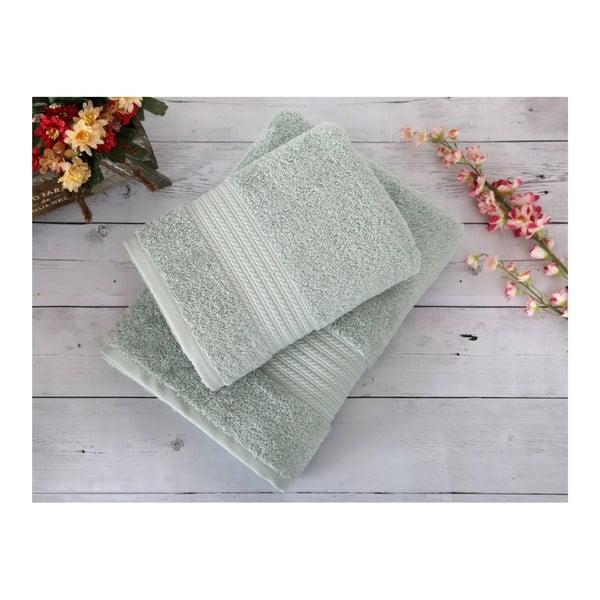 Mentolový ručník Irya Home Egyptian Cotton, 50x90 cm