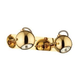Nástěnné/stropní světlo Crido Double Point Gold