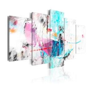 Vícedílný obraz na plátně Artgeist So Gentle, 100x50cm