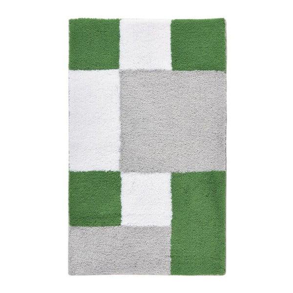 Koupelnová předložka Zamba Green, 60x100 cm