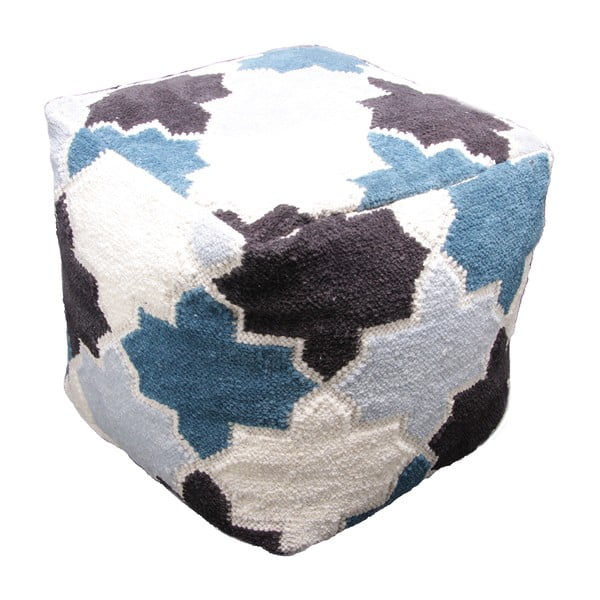 Dětský ručně tkaný sedací pufík Nattiot Mosaircus