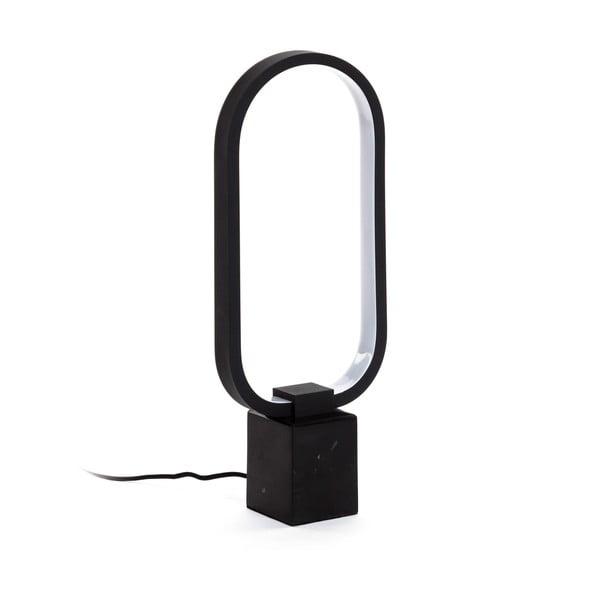 Černá stolní lampa La Forma Cinta, výška 7 cm