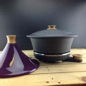Litinový hrnec Netherton Foundry na pomalé vaření s Tajine Purple