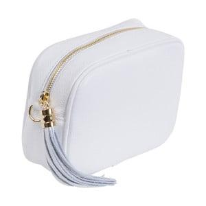 Bílá kabelka z pravé kůže Andrea Cardone Pezzo