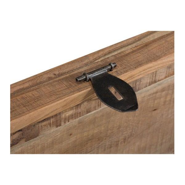Cufăr din lemn masiv de salcâm SOB Rustic