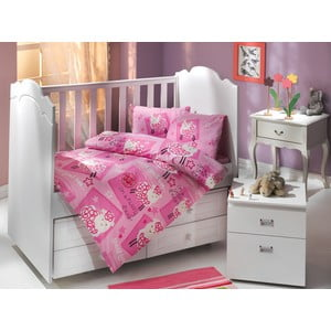 Set povlečení Hobby 100x150 cm, Little Sheep Pink