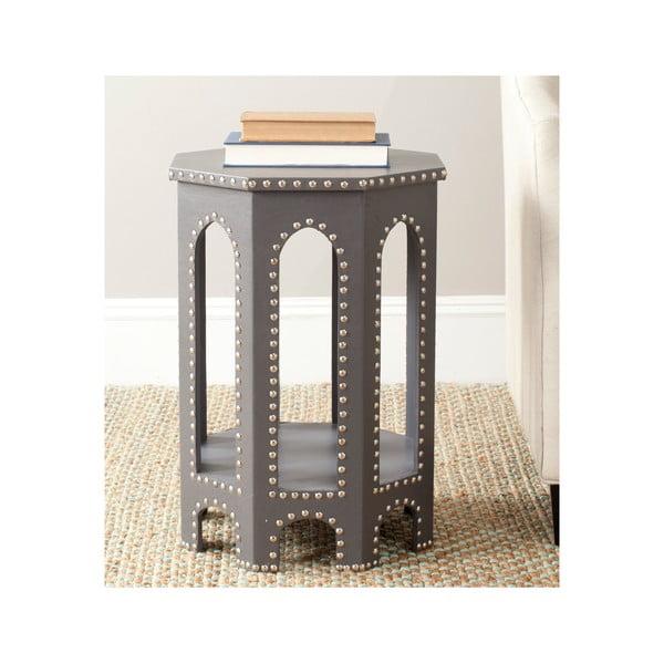 Odkládací stolek Amala, světle šedý
