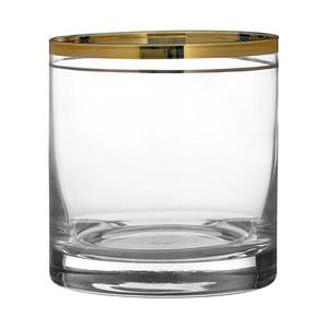 Sada 4 sklenic z ručně foukaného skla Premier Housewares Charleston, 3,75 dl
