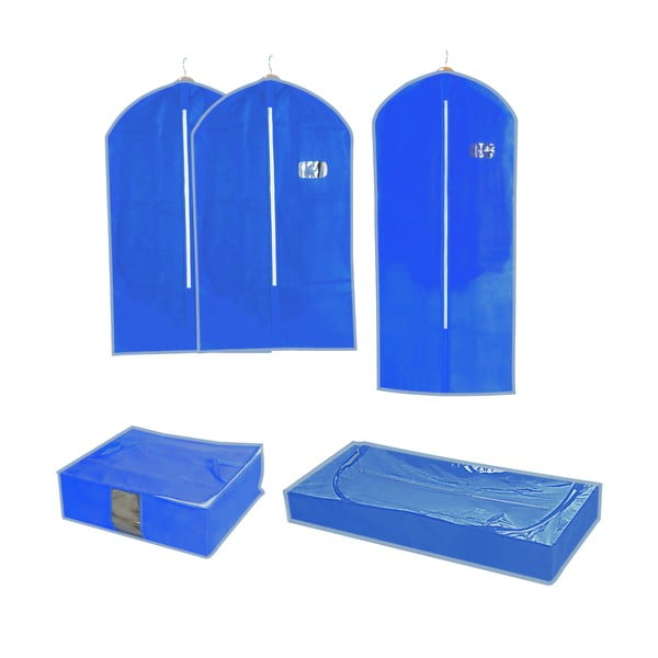 Sada 5 úložných organizérů a tašek Storage Set