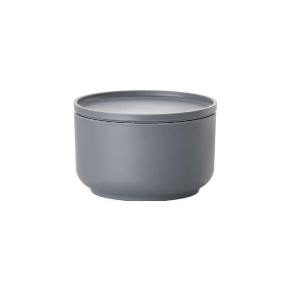 Šedá servírovací miska s víkem Zone Peili, 500 ml