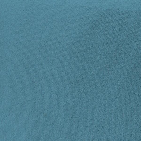 Modré křeslo Vivonita Klara