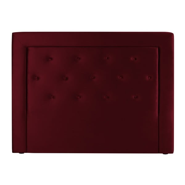 Vínově červené čelo postele Cosmopolitan Design Cloud, šířka 140cm