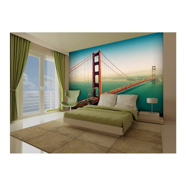 Velkoformátová tapeta San Francisco Bridge, 315x232cm