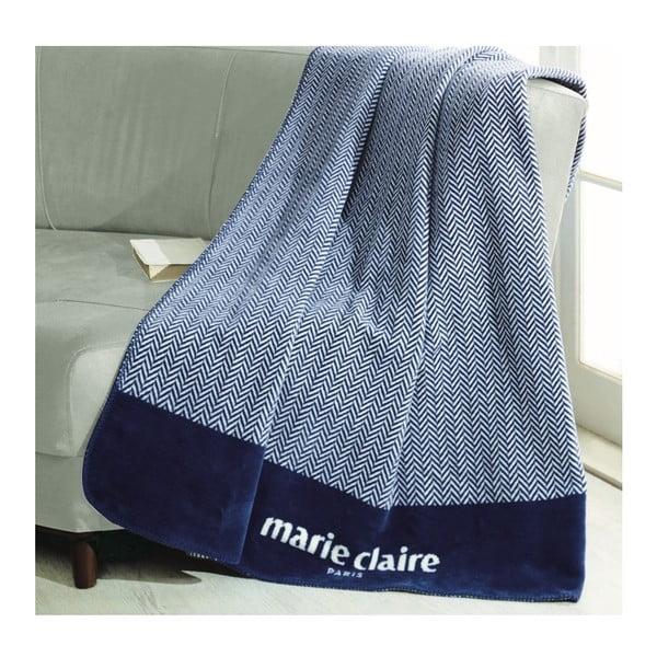 Pătură colecția Marie Claire Bastia, 130 x 170 cm, albastru