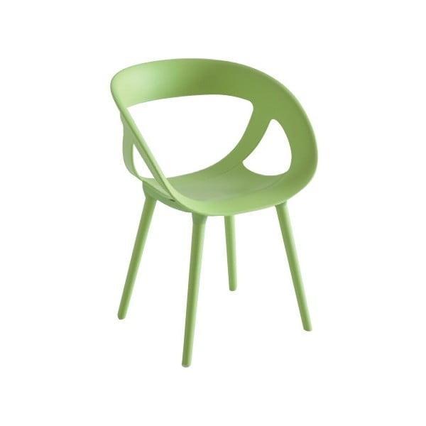 Zelená židle Moema