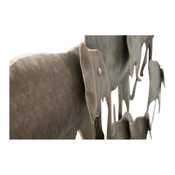 Nástěnná dekorace Mauro Ferretti Elephant, 128 x 56 cm