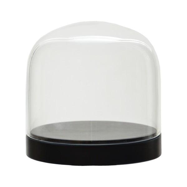 Dekorativní vitrínka 13 cm, černá