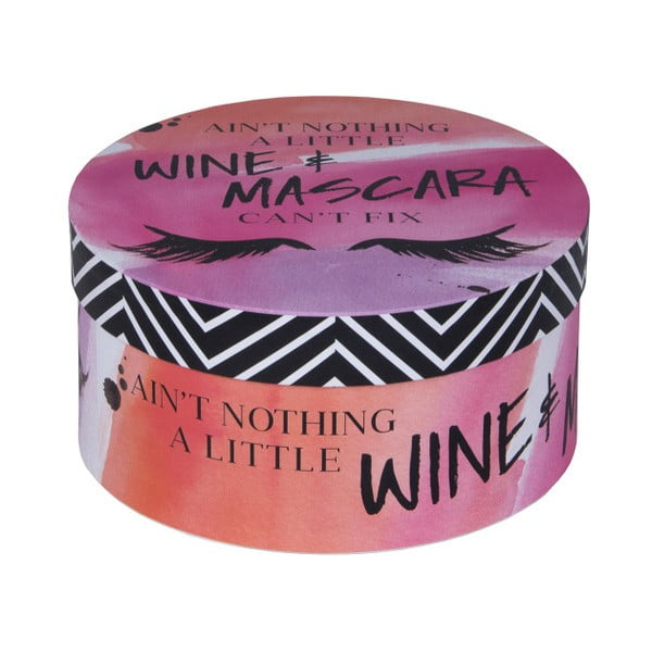 Sada 3 boxů Tri-Coastal Design Wine and Mascara