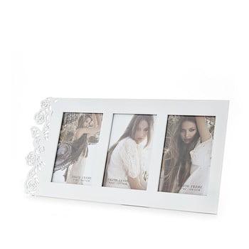 Ramă foto Tomasucci Eden White, pentru fotografii 10 x 15 cm