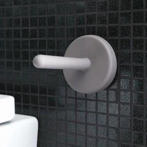 Samodržící držák na toaletní papír Portaro, světle šedá