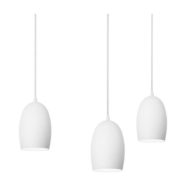 Trojité svítidlo Sotto Luce UME Elementary, matná opálová/bílá/bílá