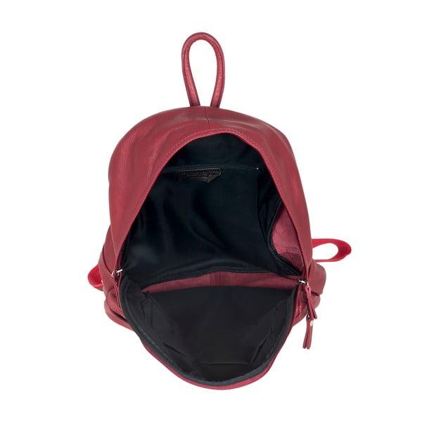Červený kožený batoh Ore Diece Rovigo
