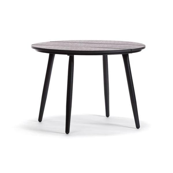 Černý zahradní konferenční stolek Timpana Calissa
