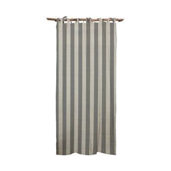 Draperie Linen Cuture Cortina Hogar Grey Stripes, gri imagine