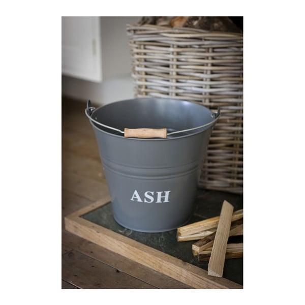 Kýbl s poklopem na popel Ash