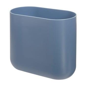 Coș de gunoi iDesign Slim Cade, albastru imagine