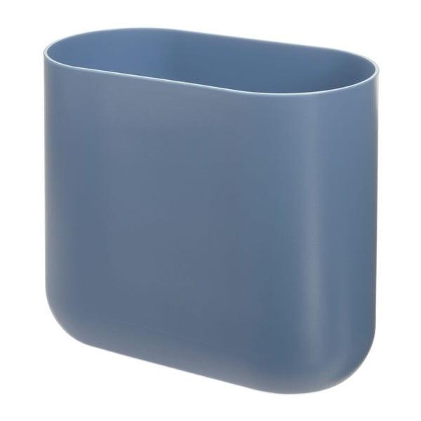 Slim Cade kék szemeteskosár - iDesign