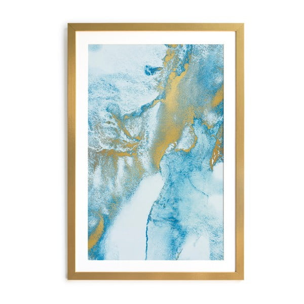 Obraz v rámu Velvet Atelier Watercolor, 60×40 cm