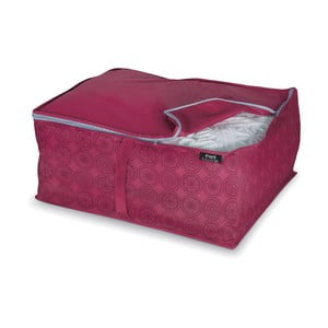 Fialový úložný box na peřiny Bonita Ella, vel. L