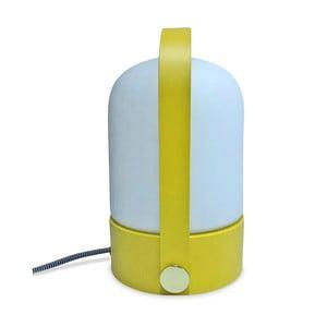 Stolní lampa se žlutou konstrukcí Opjet Paris Top